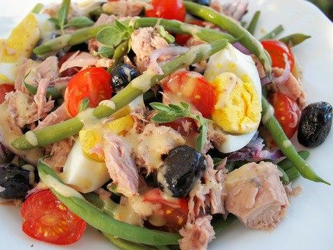 Салат нисуаз классический рецепт с фото пошагово